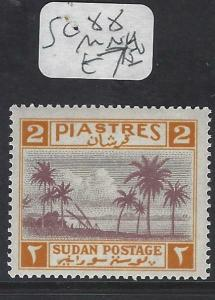 SUDAN  (P1901B)   2PI  SG 88   MNH