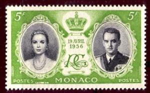 Monaco 1956: Sc. # 369; **/MNH Single Stamp