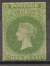 South Australia #5 F-VF Unused CV $10000.00 (ST298)