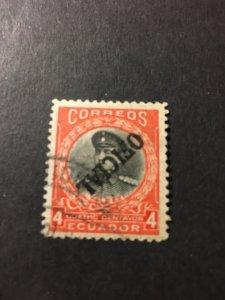 Ecuador sc O174 u inverted ovpt