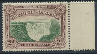 Southern Rhodesia SG 35a perf 14 mint never hinged