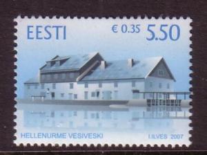 Estonia Sc575 2007 Hellenurme Mill stamp  NH