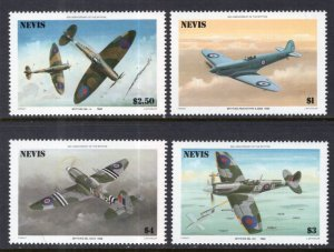 Nevis 460-463 Airplanes MNH VF
