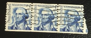 US #1304 Used F/VF (Coil Pair 3) George Washington 5 cent