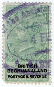 (I.B) British Bechuanaland Revenue : Duty Stamp 10/-