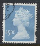 GB Machin £5 SG Y1749 SC# MH324  Parcel Used  see detail  2003 high value