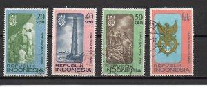 Indonesia 687-690 used