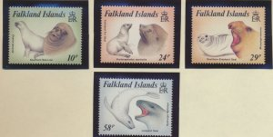 Falkland Islands Stamps Scott #461 To 464, Mint Never Hinged - Free U.S. Ship...