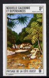 New Caledonia 1974 West Coast Landscapes 8f (Palms) imper...