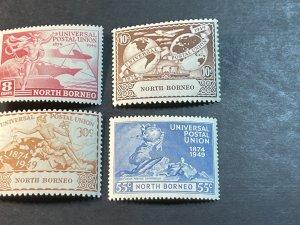 NORTH BORNEO # 240-243--MINT/HINGED--COMPLETE SET--UPU--1949(LOTC)
