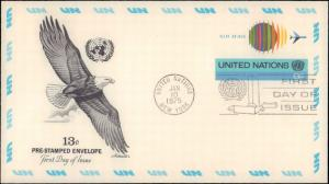 United Nations, New York, Worldwide First Day Cover, Postal Stationery