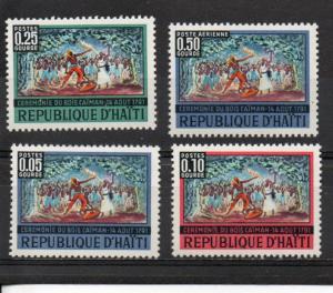 Haiti 580-583 MNH