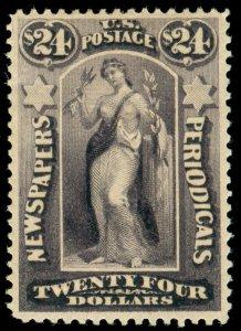 momen: US Stamps #PR76 Newspaper Mint OG H VF LOT #70453
