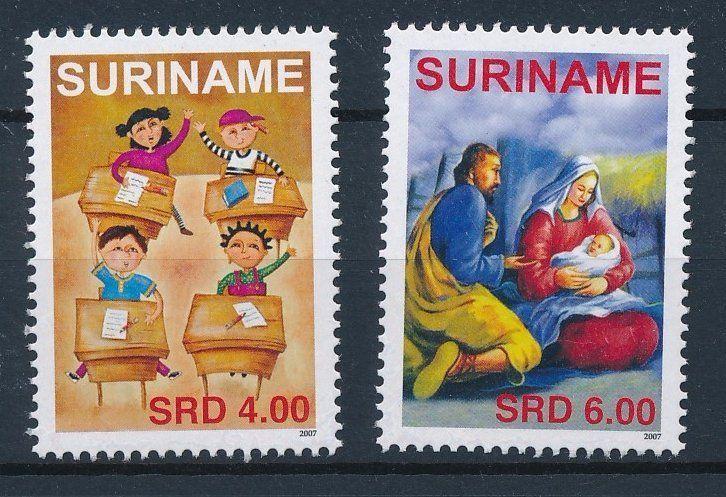 [SU1490] Suriname Surinam 2007 Christmas  MNH