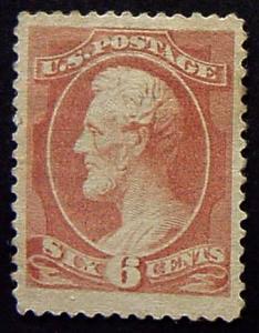 USA, Scott 208, Mint, with some OG