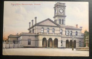 1908 Maryborough Australia Picture Postcard Cover To Palo Alto Ca USA Post Offic
