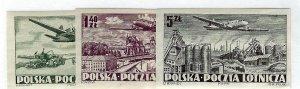 Poland SC C29-C31 Imperf Mint VF SCV$18.75...Popular Country!