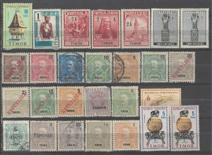 COLLECTION LOT # 3823 PORTUGESE COLONIES 27 STAMPS 1898+ CLEARANCE CV+$18