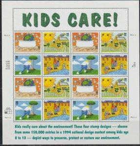 United States  SC  2951-4 Full Sheet