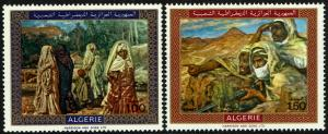 Algeria #428-29  MNH - Paintings by Dinet (1969)