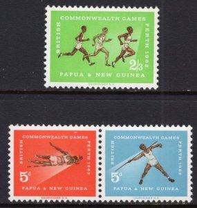 Papua New Guinea 171-173 MNH VF