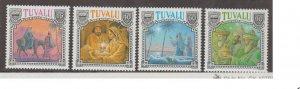 Tuvalu Scott #558-561 Stamps - Mint NH Set