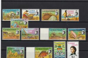 cayman islands 1974 mint never hinged stamps cat £35 ref r8796