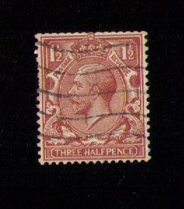 Great Britain Sg 420bWi Used Watermark Inverted F-VF CV £650