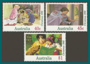 Australia 1992  Christmas, MNH #1303-1305,SG1383-SG1385