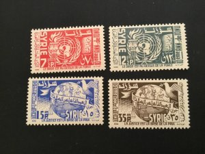 ICOLLECTZONE SYRIA 392-93, C200-201 VF NH
