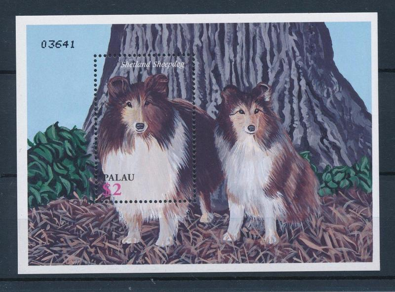 [35325] Palau 2002 Animals Dogs Sheepdog MNH Sheet