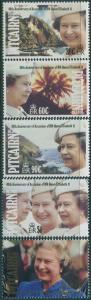 Pitcairn Islands 1992 SG409-413 QEII Jubilee set MNH