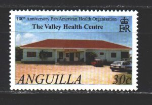 Anguilla. 2002. 1120 from the series. Pan American Health Organization. MNH.