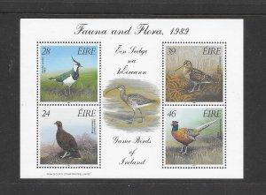 BIRDS- IRELAND #758a  MNH