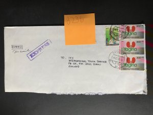 Indonesia #780//B242 Cover to Finland (1970-1999) Cover #6748