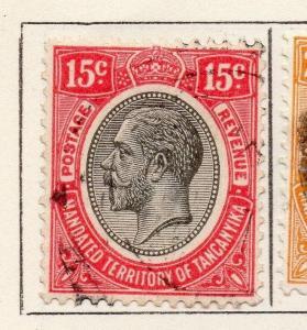 Tanganyika 1927 Early Issue Fine Used 15c. 269599