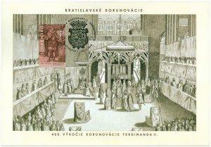 SLOVAKIA / 2018, (Coll. Sheet) Bratislava Coronation Ceremonies, MNH