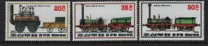 KOREA  2307-2309  MNH TRAINS 1983