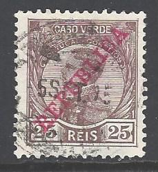 Cape Verde Sc # 104 used (RS)