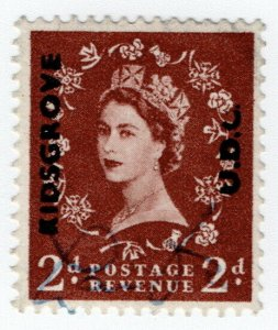 (I.B) Elizabeth II Commercial Overprint : Kidsgrove Urban District Council