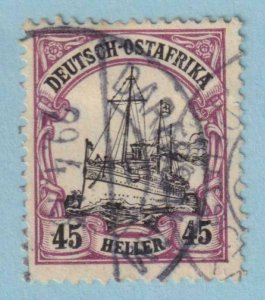 GERMAN EAST AFRICA 37  USED -  NO FAULTS EXTRA FINE!