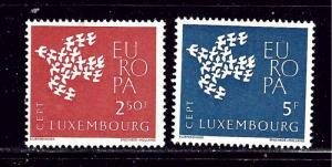 Luxemburg 382-83 MNH 1961 Europa