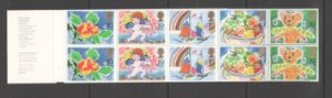 Great Britain Sc 1247a 1989 Special Occasions stamp booklet mint NH