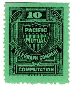 (I.B) USA Telegraphs : Pacific Mutual 10c