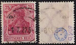 GERMANY REICH [1922] MiNr 0197 b ( O/used ) [01] geprüft