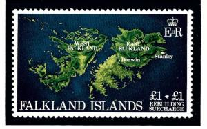 Falkland Is B1 MNH 1982 Rebuilding
