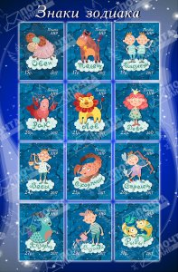 Stamps of Ukraine (Local) 2017 .- Zodiac Signs. Full sheet