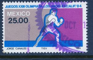 MEXICO 1355, Los Angeles Olympic Games. Used. (1022)