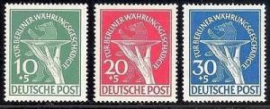 Germany #9NB1-3  Mint VF NH