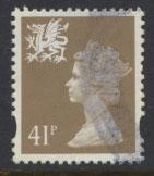 Great Britain Wales  SG W77 SC# WMMH64 Used  see details 2 band